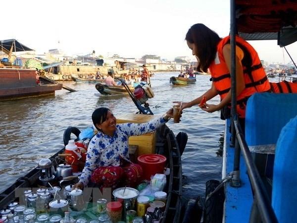 Delta del Mekong de Vietnam apunta promover el turismo local hinh anh 1