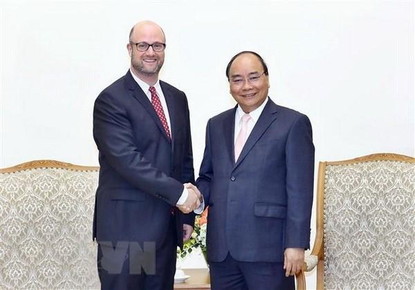 Premier vietnamita exhorta a firmas estadounidenses transferir tecnologias a su pais hinh anh 1