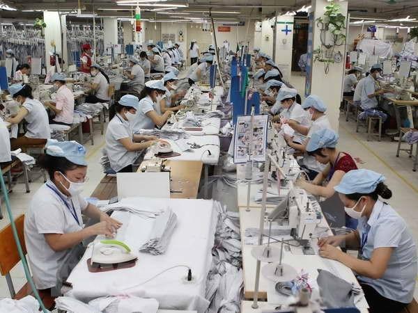 Exportaciones textiles de Vietnam podrian superar los mil millones de dolares este ano hinh anh 1