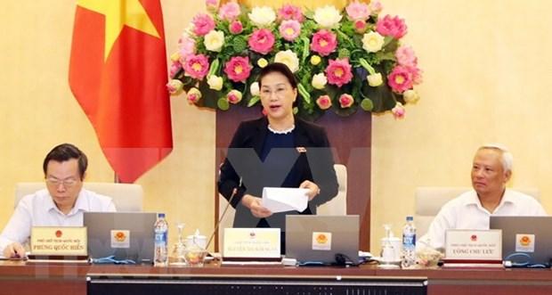 Comite Permanente del Parlamento de Vietnam comienza su XXVII reunion hinh anh 1