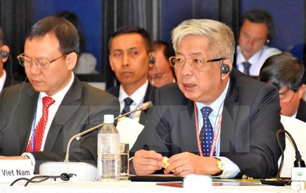 Paises miembros de ASEAN destacan importancia del respeto de leyes internacionales hinh anh 1