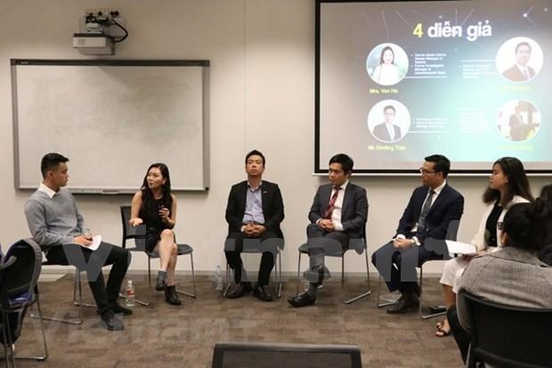 Jovenes vietnamitas en Australia comparten experiencias de exito hinh anh 1