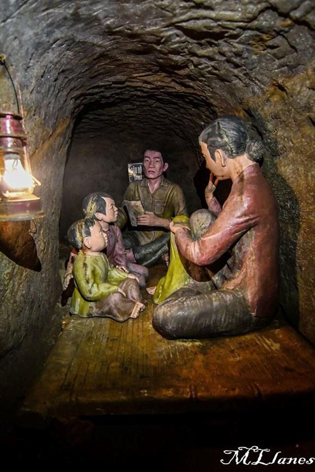 Tuneles de Vinh Moc: vivir, luchar y sonar bajo tierra hinh anh 4