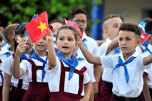 Multiples actividades en Cuba recuerdan historica visita de Fidel a Vietnam en 1973 hinh anh 3