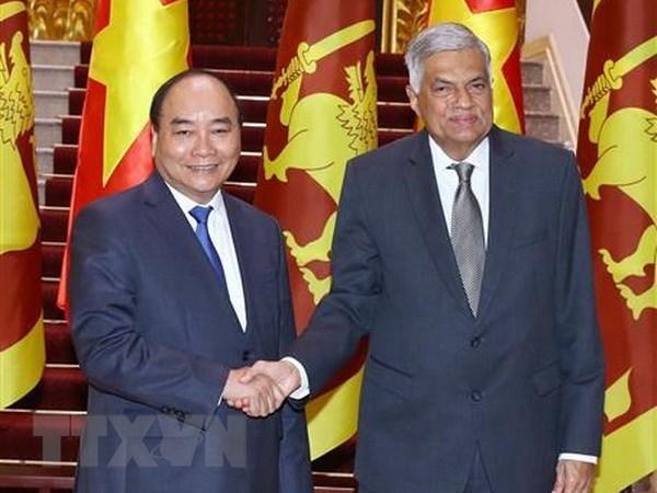Vietnam y Sri Lanka acuerdan ampliar cooperacion en multiples sectores hinh anh 1