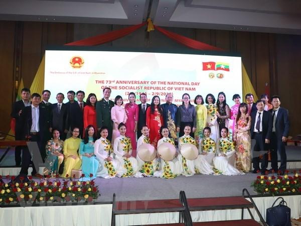 Continuan actividades conmemorativas por Dia Nacional de Vietnam en el extranjero hinh anh 1