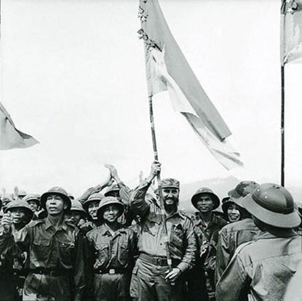 Recuerdos imborrables sobre visita a Quang Tri en 1973 de Fidel Castro hinh anh 1