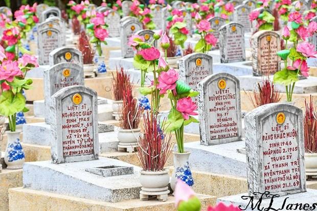 Historia de Quang Tri contada por sus cementerios hinh anh 3
