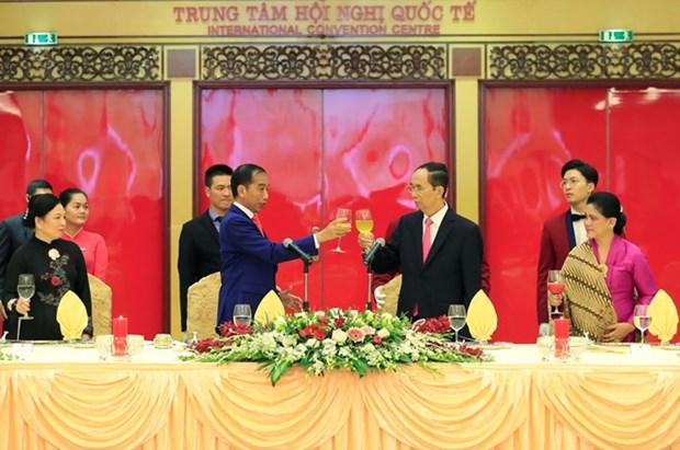 Nexos Vietnam-Indonesia son un tesoro para generaciones futuras, afirma presidente vietnamita hinh anh 1