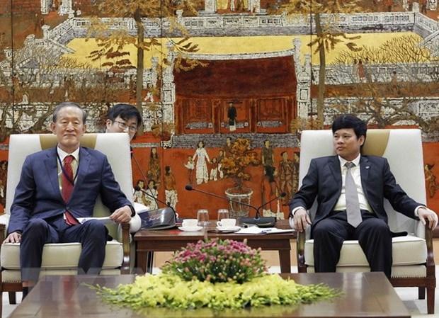 Empresas surcoreanas aumentan inversion en Hanoi hinh anh 1