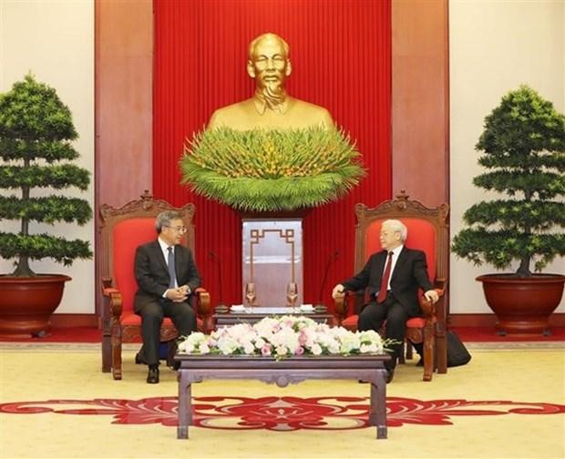 Dirigente partidista vietnamita destaca avances notables en nexos con China hinh anh 1