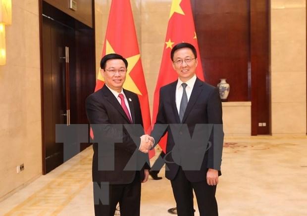 Vietnam y China impulsan nexos comerciales hinh anh 1