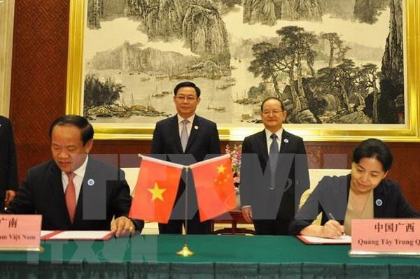 Vicepremier vietnamita asiste a XV Feria China-ASEAN hinh anh 1