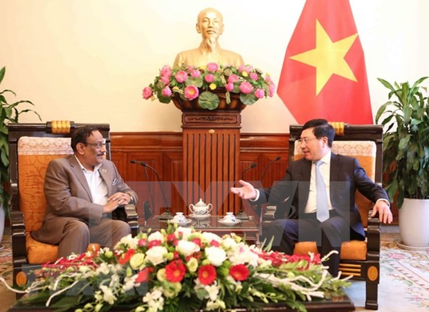 Vietnam y Bangladesh comprometidos a fortalecer nexos bilaterales hinh anh 1