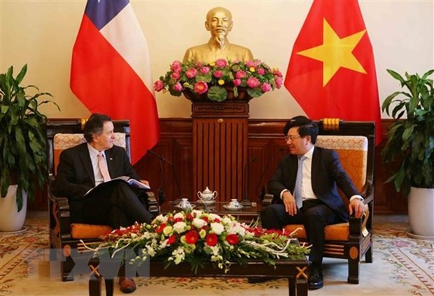Vietnam considera a Chile como socio mas importante en America Latina, reitera vicepremier hinh anh 1