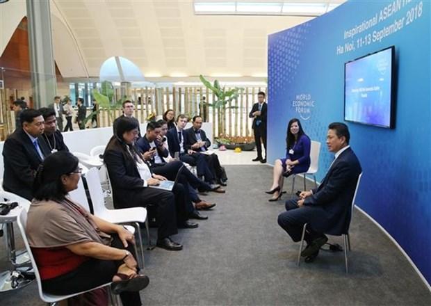 ASEAN busca garantizar la seguridad vial hinh anh 1
