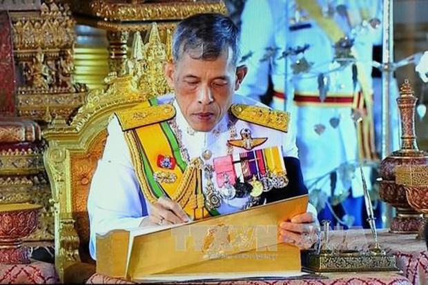 Rey tailandes aprueba leyes relacionadas con elecciones hinh anh 1