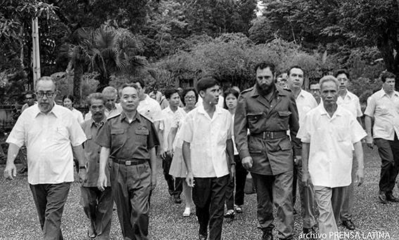 Fidel y Ho Chi Minh, un encuentro que ni la muerte pudo impedir hinh anh 2