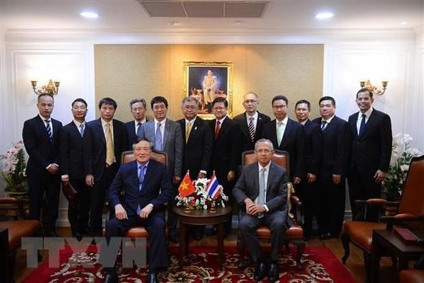 Asiste Vietnam a reunion sobre campo judicial en Tailandia hinh anh 1