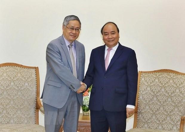 Premier de Vietnam recibe al director ejecutivo de Comision del Rio Mekong hinh anh 1