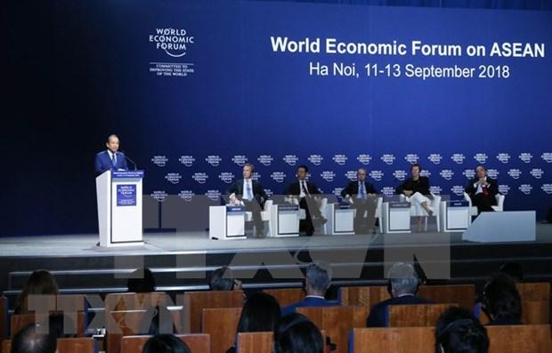 Concluyen conferencia de Foro Economico Mundial sobre ASEAN en Vietnam hinh anh 1