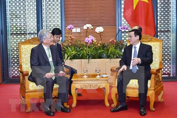 Grupos extranjeros dispuestos a asistir a Vietnam en desarrollo de economia digital hinh anh 1