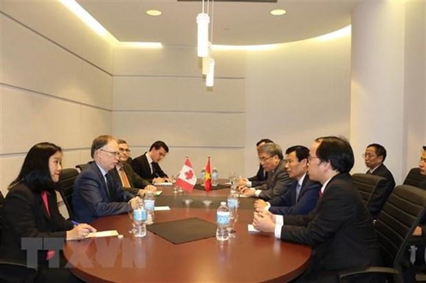 Vietnam y Canada discuten medidas para robustecer nexos bilaterales hinh anh 1