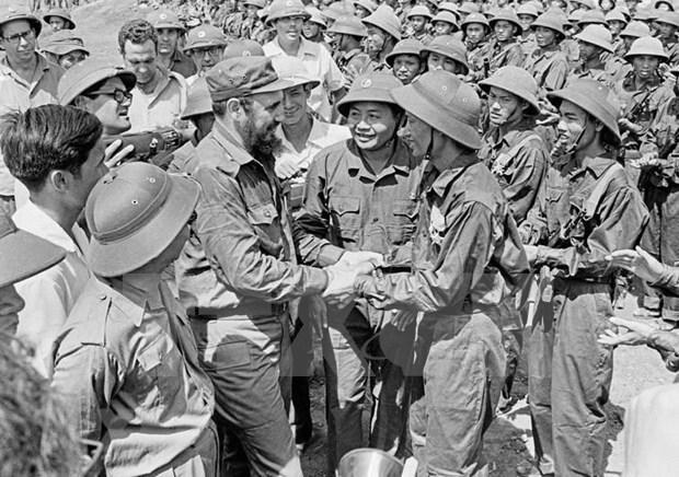 Energia transmitida por Fidel: fuerza de impulso para lucha justa del pueblo vietnamita hinh anh 1