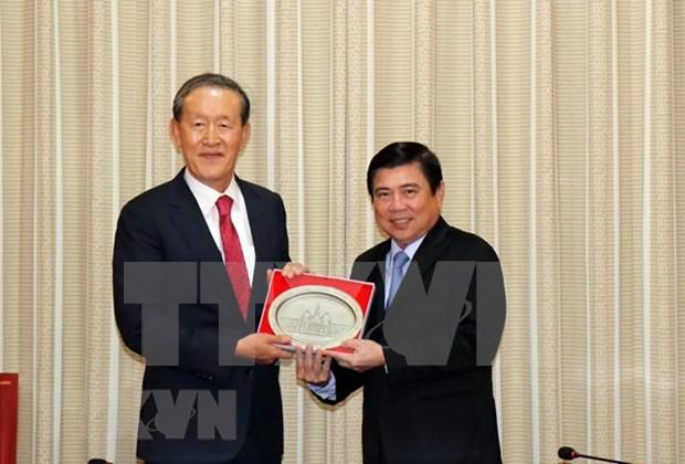 Desean invertir en Ciudad Ho Chi Minh empresas sudcoreanas hinh anh 1