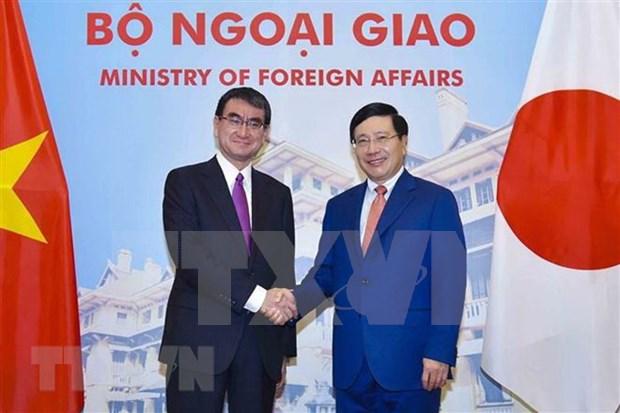 Vietnam y Japon debaten medidas para impulsar las relaciones bilaterales hinh anh 1