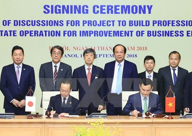 Vietnam y Japon cooperan en desarrollo de gobierno electronico hinh anh 1