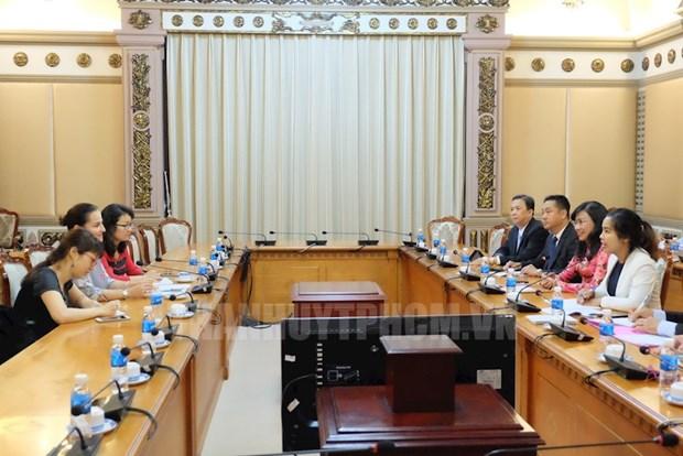 Ciudad Ho Chi Minh comprometida a promover igualdad de genero hinh anh 1