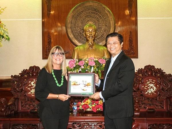 Ciudad vietnamita de Can Tho busca fomentar la cooperacion con Australia en diversas areas hinh anh 1