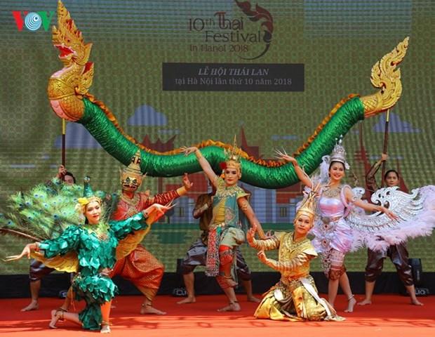Comienza decimo Festival de Tailandia en Hanoi hinh anh 1