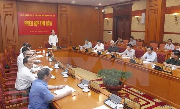 Impulsan en Vietnam reformas judiciales hinh anh 1