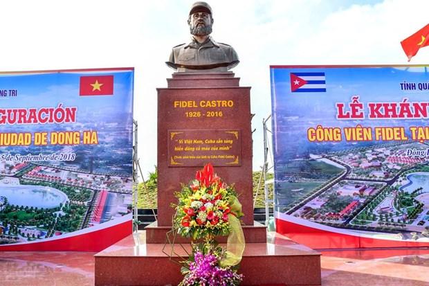 Plaza Fidel Castro en el centro de Vietnam hinh anh 2