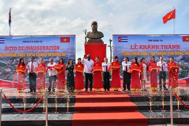 Plaza Fidel Castro en el centro de Vietnam hinh anh 1