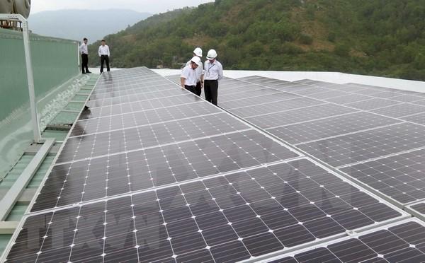 Arranca en provincia vietnamita proyecto de energia solar hinh anh 1