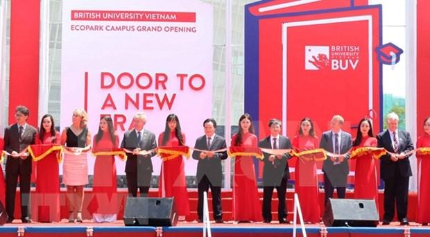 Universidad Britanica de Vietnam inaugura su moderno campus en el pais hinh anh 1