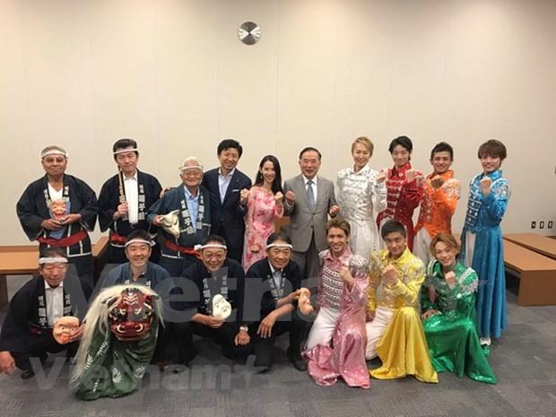 Celebran en Ciudad Ho Chi Minh aniversario 45 de nexos Vietnam-Japon hinh anh 1