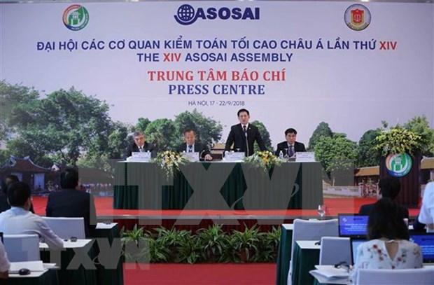 Declaracion de ASOSAI 14 ratificara compromiso con desarrollo sostenible hinh anh 1