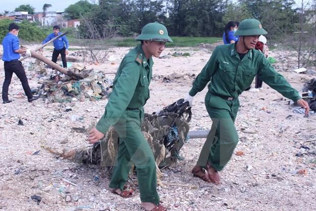 Celebran Dia Mundial de Limpieza en Vietnam con varias actividades hinh anh 1
