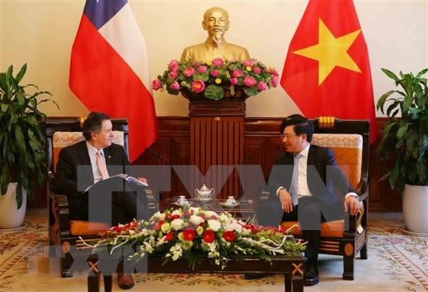 Vietnam felicita a Chile por 208 aniversario de su independencia hinh anh 1