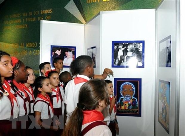 Concluye en Cuba jornada conmemorativa por historica visita de Fidel a Vietnam en 1973 hinh anh 1