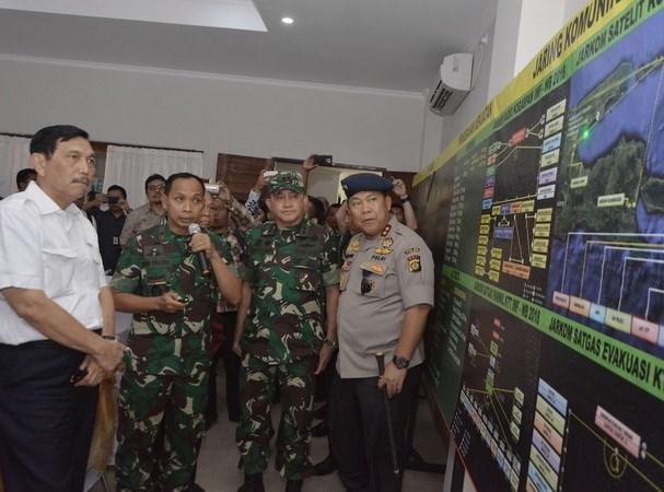 Indonesia traza planes de respuesta a desastres naturales durante reunion FMI- BM hinh anh 1