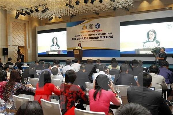 Seguridad social de la ASEAN en medio de la industria 4.0 hinh anh 1