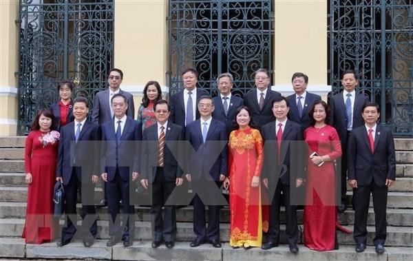 Vietnam y China robustecen cooperacion profesional en el sector judicial hinh anh 1