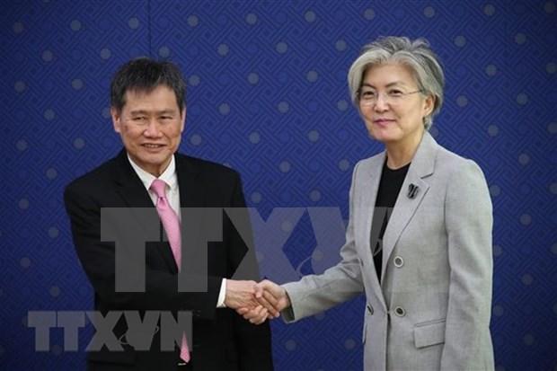 ASEAN y Corea del Sur afianzan cooperacion hinh anh 1