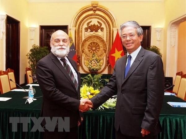 Vietnam y Venezuela efectuan la septima consulta politica hinh anh 1
