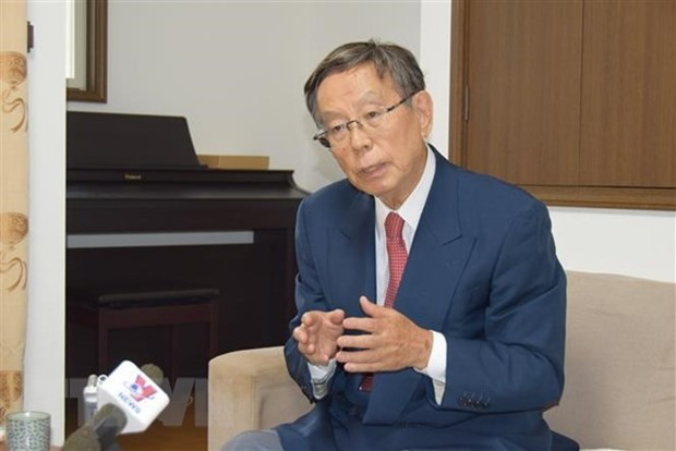 Nexos entre Vietnam y Japon se consolidan en todos los aspectos, afirma exvicecanciller nipon hinh anh 1